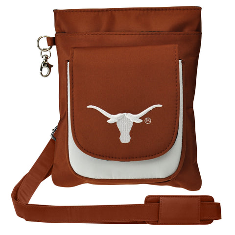 Texas Longhorns Traveler / Crossbody - Charm14
