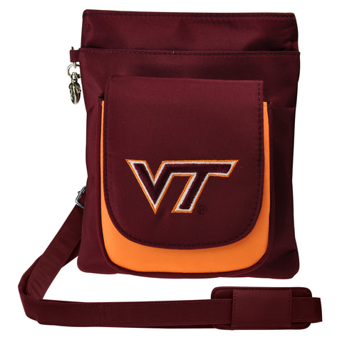 Virginia Tech Hokies Traveler / Crossbody