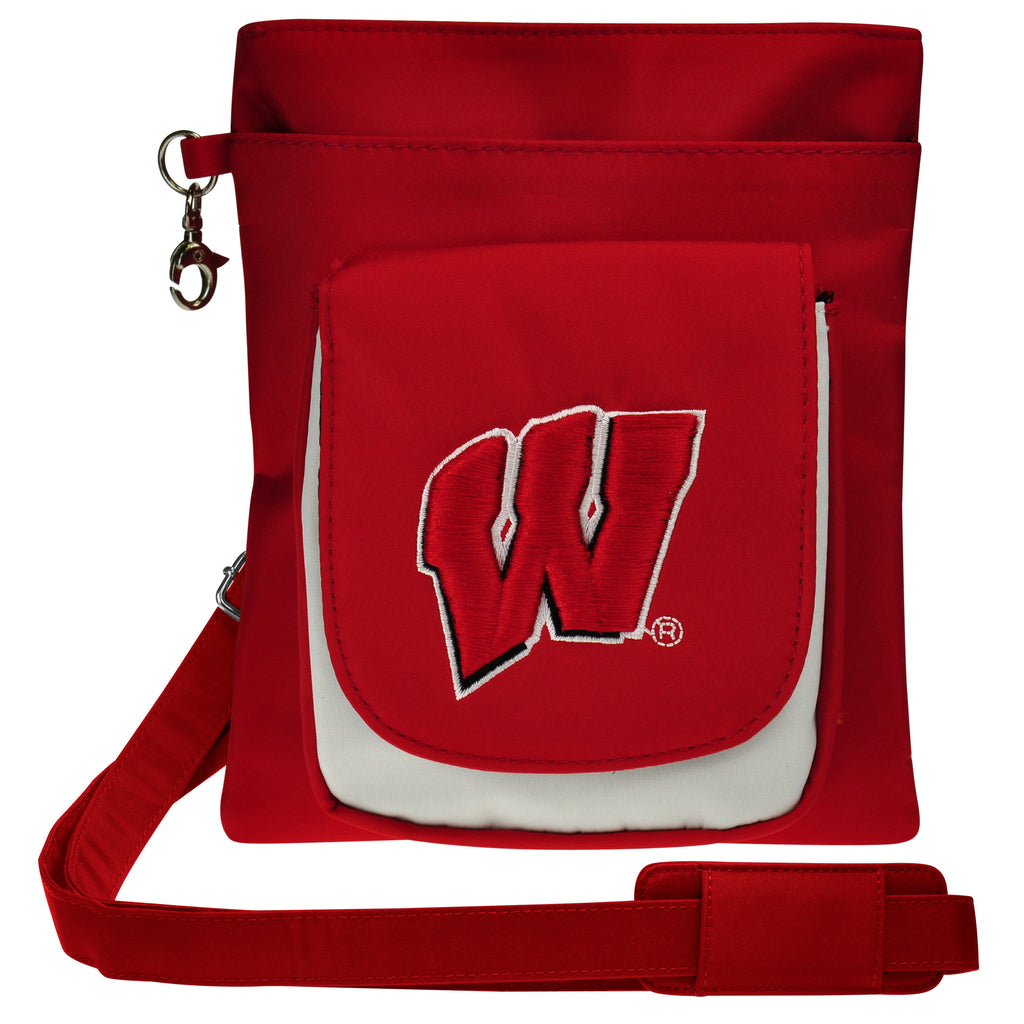 Wisconsin Badgers Traveler / Crossbody - Charm14