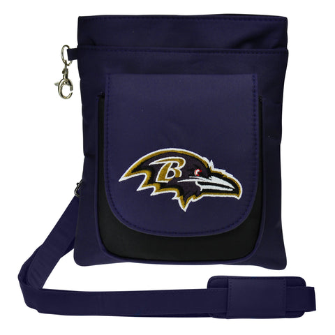 Baltimore Ravens Traveler / Crossbody