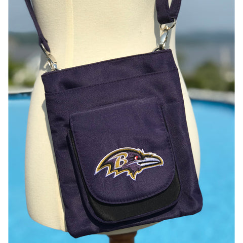 Baltimore Ravens Traveler / Crossbody - Charm14