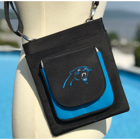 Carolina Panthers Traveler / Crossbody - Charm14