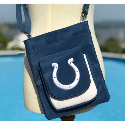 Indianapolis Colts Traveler / Crossbody - Charm14