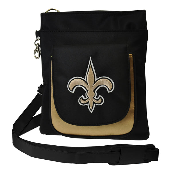 New Orleans Saints Traveler / Crossbody - Charm14