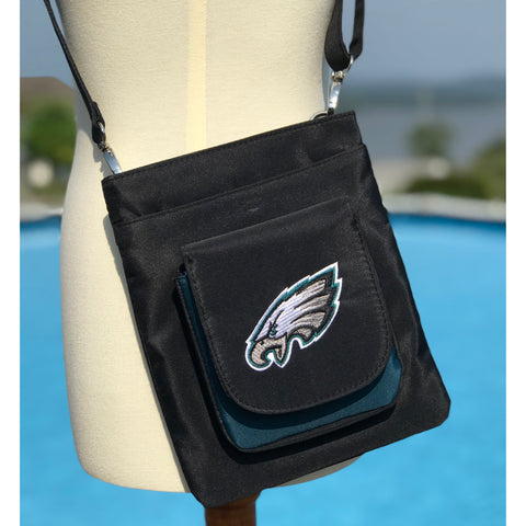 Philadelphia Eagles Traveler / Crossbody - Charm14