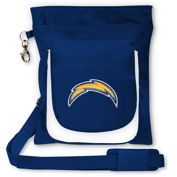 NFL Crossbody Handbag Womens- Embroidered Logo by Little Earth - Charm14