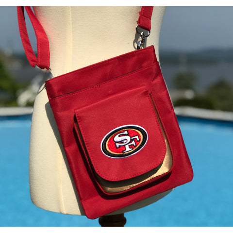 San Francisco 49ers Traveler / Crossbody - Charm14