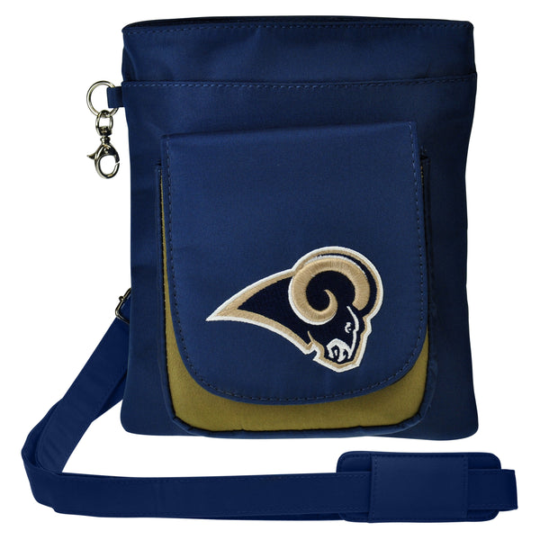 Los Angeles Rams Traveler / Crossbody - Charm14