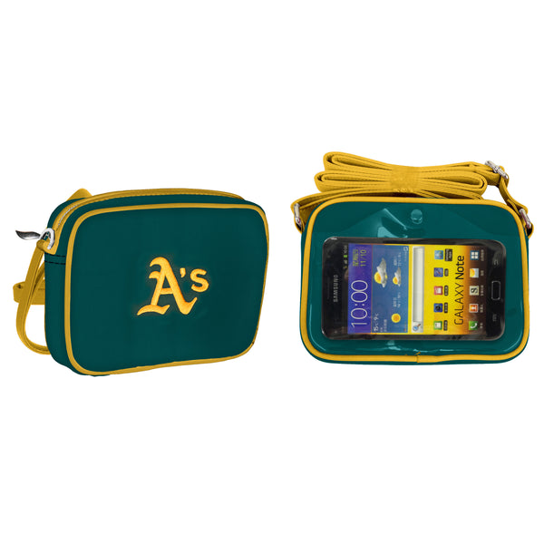 MLB Oakland Athletics Crossbody with Smartphone Touchscreen