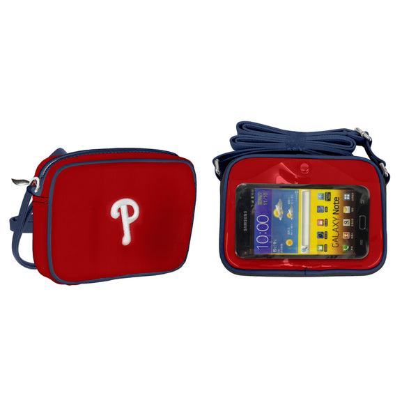 MLB Philadelphia Phillies Crossbody with Smartphone Touchscreen - Charm14