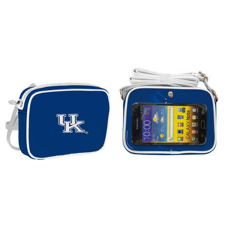 NCAA Kentucky Wildcats Crossbody with Smartphone Touchscreen - Charm14