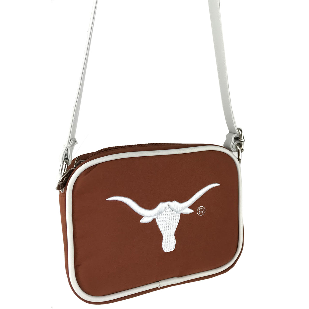 NCAA Texas Longhorns Crossbody with Smartphone Touchscreen - Charm14
