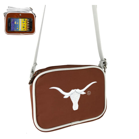 NCAA Crossbody Cell Phone Purse w/Touchscreen - Charm14