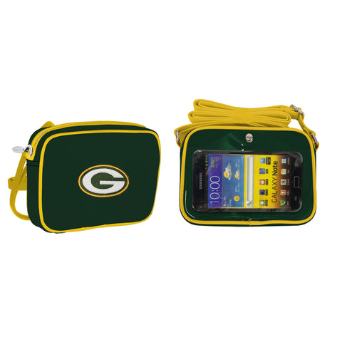 NFL Green Bay Packers Crossbody with Smartphone Touchscreen - Charm14