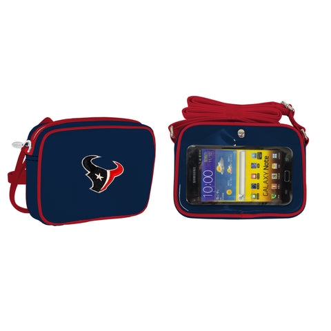 NFL Houston Texans Crossbody with Smartphone Touchscreen - Charm14
