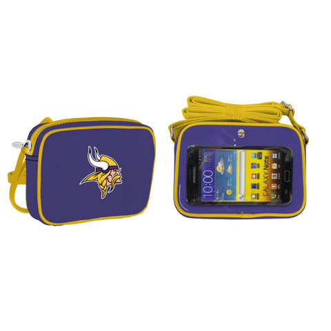 NFL Minnesota Vikings Crossbody with Smartphone Touchscreen