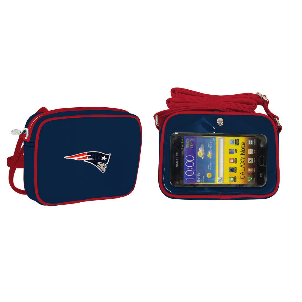 NFL New England Patriots Crossbody with Smartphone Touchscreen - Charm14