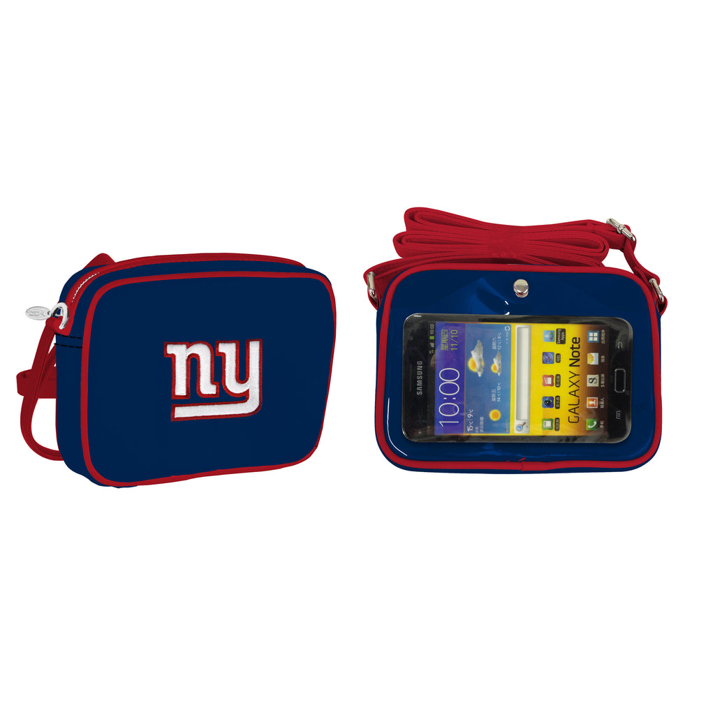 NFL New York Giants Crossbody with Smartphone Touchscreen - Charm14