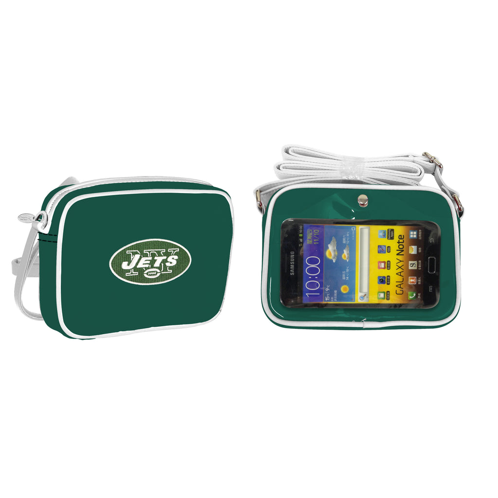NFL New York Jets Crossbody with Smartphone Touchscreen - Charm14
