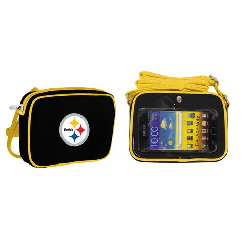 NFL Pittsburgh Steelers Crossbody with Smartphone Touchscreen