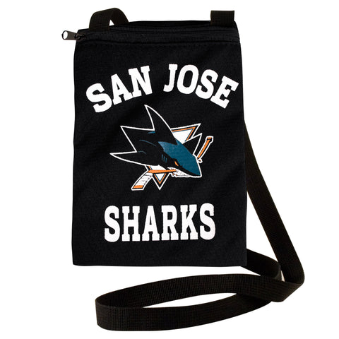 San Jose Sharks Jersey Gameday Pouch - Charm14
