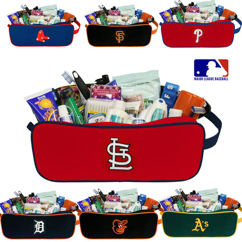 MLB Travel Case-Toiletry Bag- All Teams Available