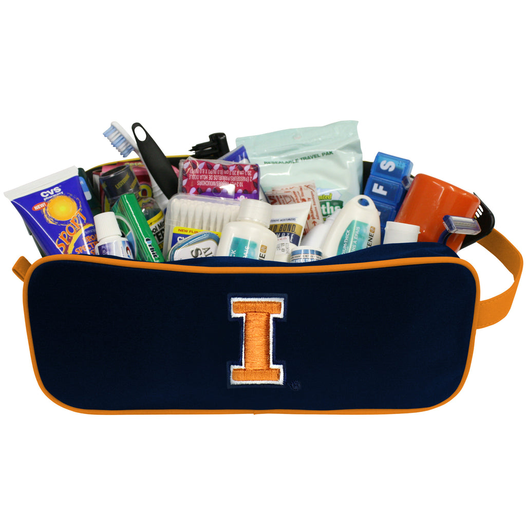 Illinois Fighting Illini Travel Case - Charm14