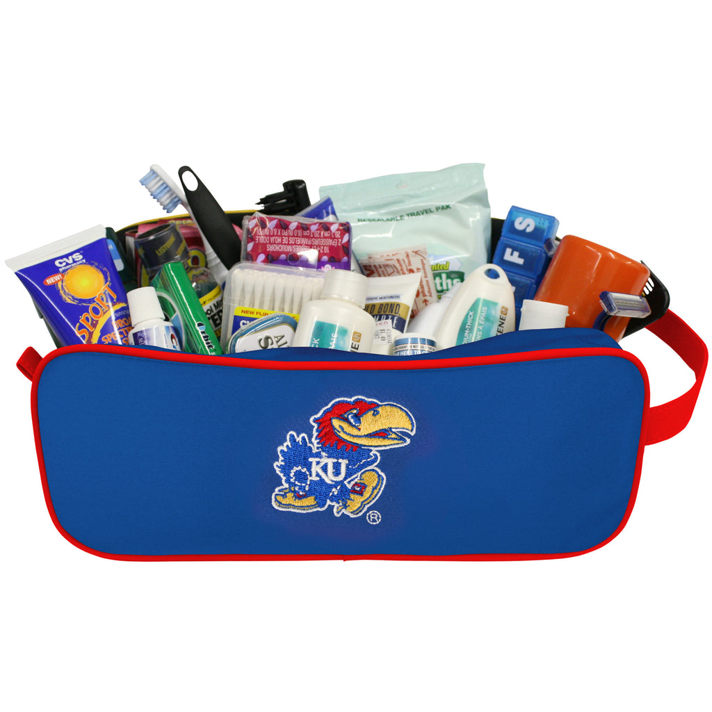 Kansas Jayhawks Travel Case - Charm14