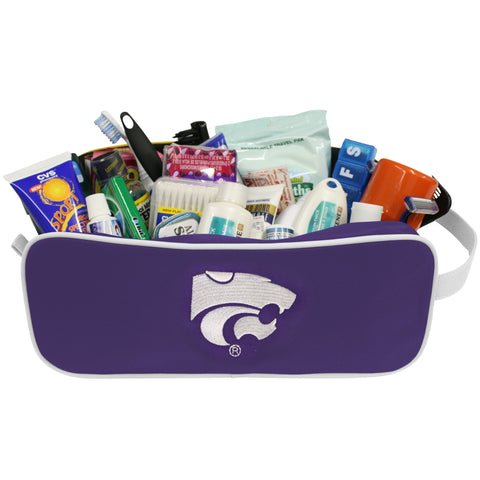 Kansas State Wildcats Travel Case - Charm14