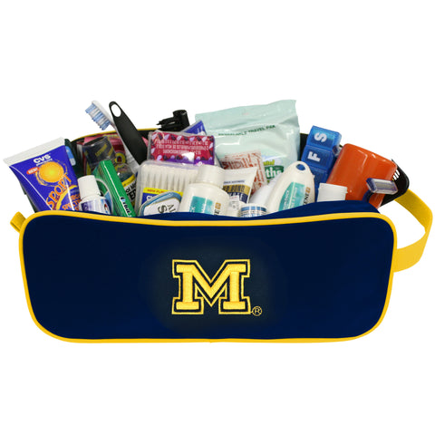 Michigan Wolverines Travel Case - Charm14