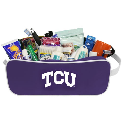 NCAA TCU Horned Frogs Travel Case - Charm14