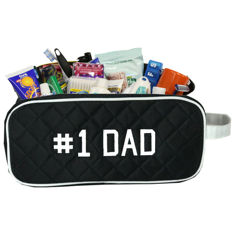 Men's Travel Case/Dopp Kit- Assorted Designs for Father's Day- Brand New - Charm14