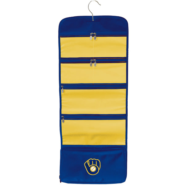 Milwaukee Brewers Travel Hanging Organizer - Charm14