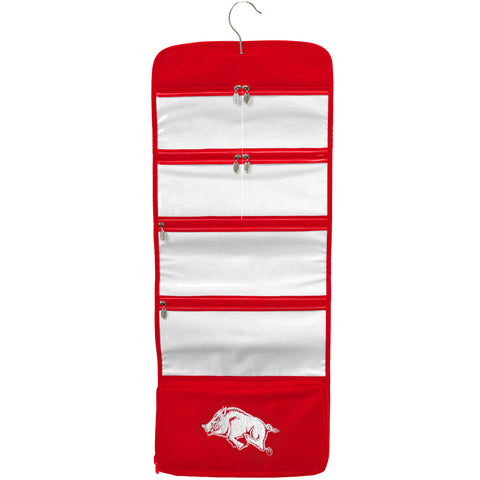 Arkansas Razorbacks Travel Hanging Organizer - Charm14