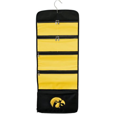 Iowa Hawkeyes Travel Hanging Organizer