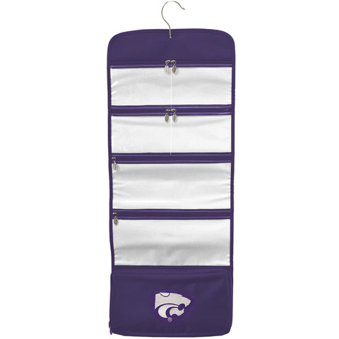 Kansas State Wildcats Travel Hanging Organizer - Charm14