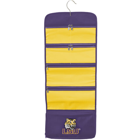 NCAA LSU Tigers Travel Hanging Organizer - Charm14