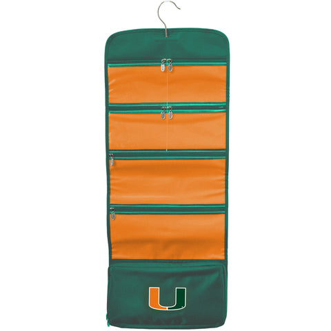 Miami Hurricanes Travel Hanging Organizer