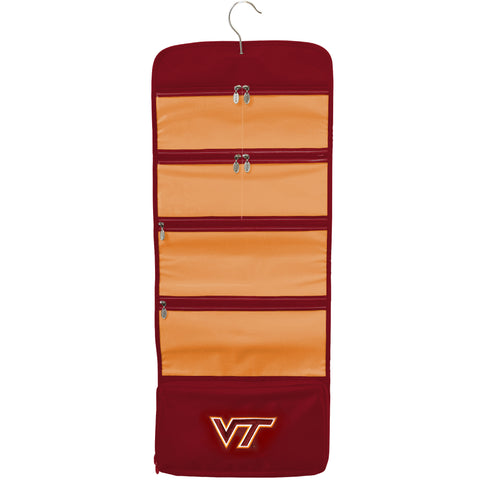 Virginia Tech Hokies Travel Hanging Organizer