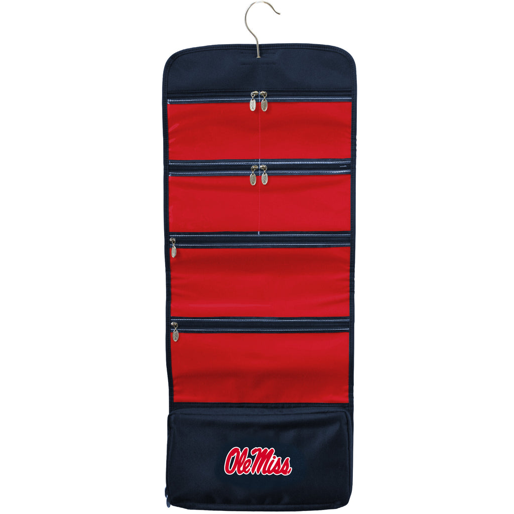 Ole Miss Rebels Travel Hanging Organizer - Charm14