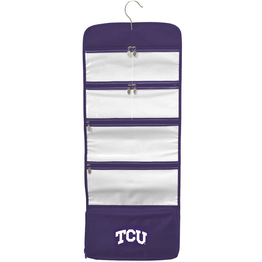 TCU Horned Frogs Travel Hanging Organizer