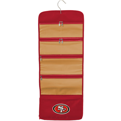 San Francisco 49ers Travel Hanging Organizer - Charm14