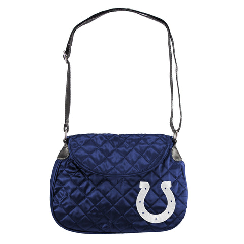 Indianapolis Colts Quilted Saddlebag - Charm14