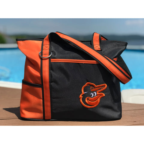 Baltimore Orioles Carryall Tote - Charm14