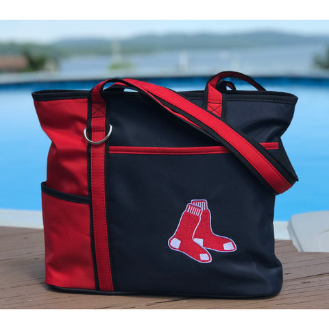 Boston Red Sox Carryall Tote - Charm14