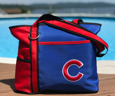 Chicago Cubs Carryall Tote - Charm14