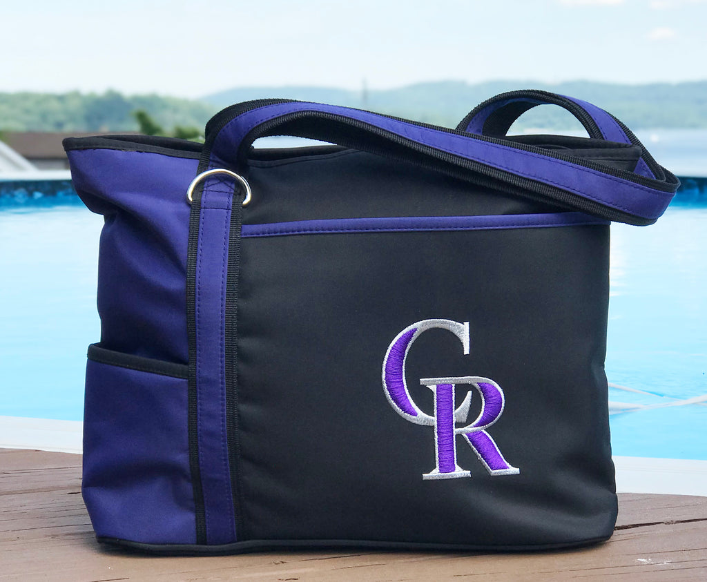 Colorado Rockies Carryall Tote - Charm14