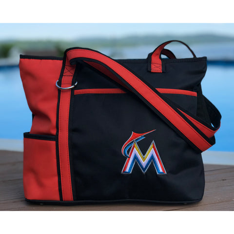 Miami Marlins Carryall Tote - Charm14