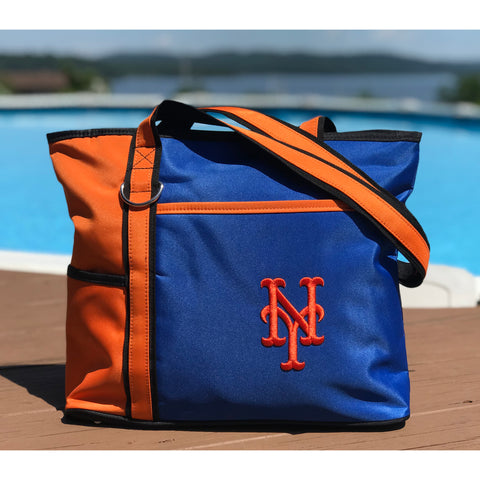 New York Mets Carryall Tote - Charm14
