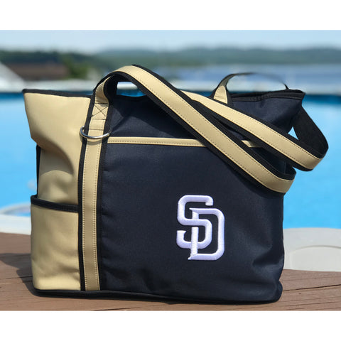 San Diego Padres Carryall Tote - Charm14